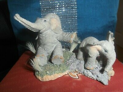 tuskers collectable henry elephant,drip dry,club symbol of membership,perfect