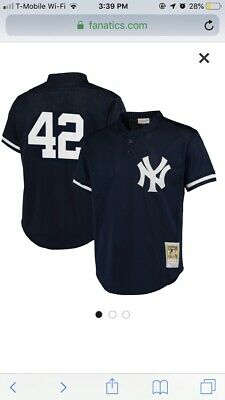 8189a0215 NEW YORK YANKEES Mitchell & Ness Authentic BP Jersey - $70.00 | PicClick