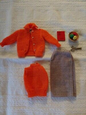 Vintage Barbie Doll 'Sweater Girl' outfit #976