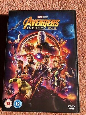 Avengers Infinity War DVD Watched Once