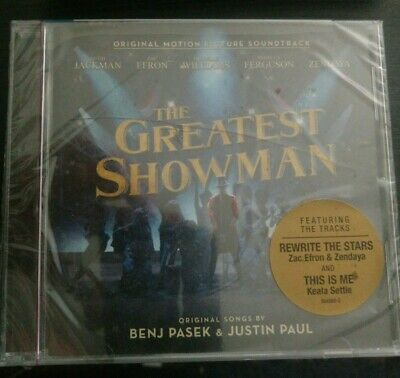 The Greatest Showman Original Soundtrack  CD  New Sealed Fast Free Shipping