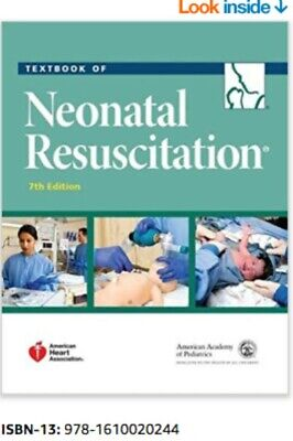 Textbook of Neonatal Resuscitation (NRP) 7th Edition [PAPERBACK ]