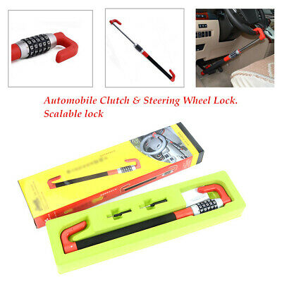Anti Theft Car Steering Wheel Lock Van Security Device  Scalable Clutch Lock