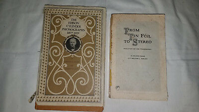 The Edison Cylinder Phonograph 1877-1929 1st edition + Tinfoil to Stereo softcov