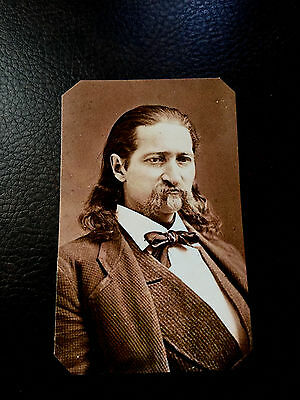 museum quality reproduction tintype portrait of Wild Bill Hickok C570RP