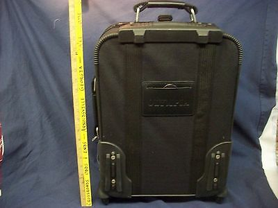 Luggage America Olympia Montana Travel Garment Bag Rolling Suitcase carry on NEW
