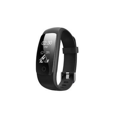 IDO Plus Fitness Tracker 0.96/'/' OLED Touch Screen ID115HR Black SN206852