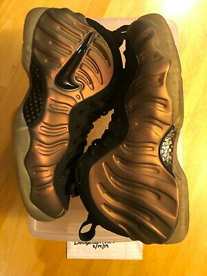 c8280fe26e9 NIKE AIR FOAMPOSITE Pro One 1 PENNY BLACK GYM GREEN PINE 624041-302 ...