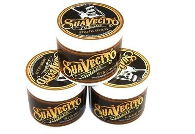 Suavecito Pomade Firme (Strong Hold) 3 Pack