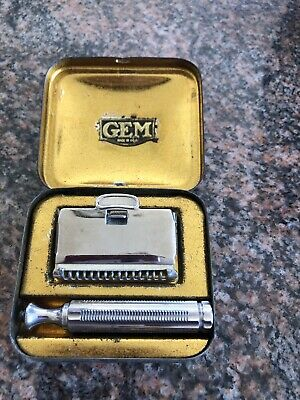 Vintage Gem Single Edge Safety Razor