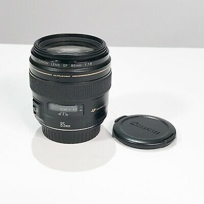 Canon EF 2519A003 85mm f/1.8 USM Lens USED