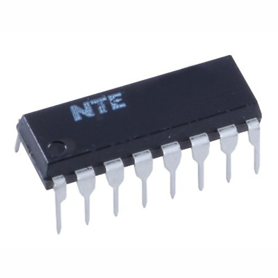 NTE Electronics NTE1022 INTEGRATED CIRCUIT 4-CHANNEL SQ DECODER 16-LEAD DIP