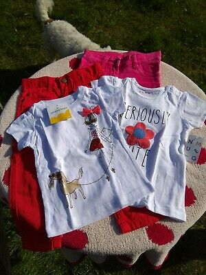 BNWT Girls Jeans Trousers T-Shirt Bundle 18-24 Month