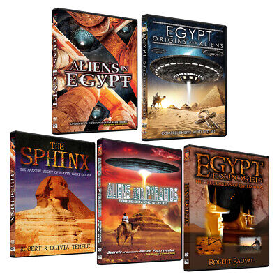 Aliens in Egypt - Boxed Set - The Ultimate Ancient Mystery Exposed - ET Origins!