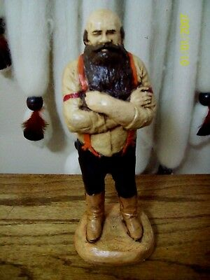 WESTERN WAGON MASTER - hydracal  statue -handpainted by me $ 1.00 off