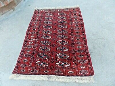 Antique Yomut Tekke Hand Knotted Rug