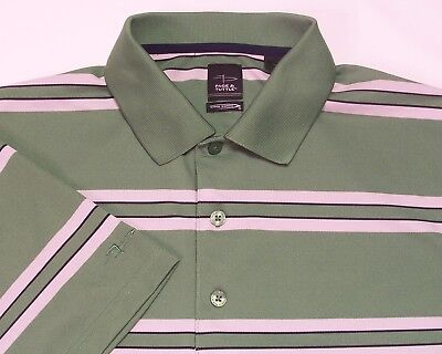 3609c800 PAGE & TUTTLE Cool Swing Mens Green Golf Polo Shirt L - $5.99 | PicClick