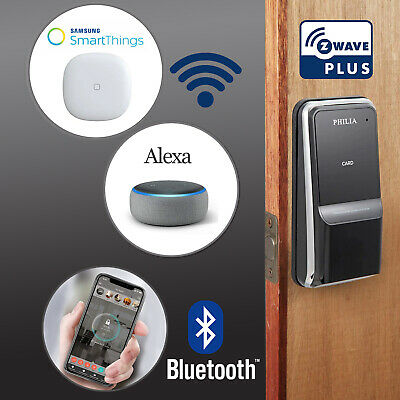Philia PDS-100BZ Bluetooth Z-Wave, RFID, Keypad, Smart Keyless Digital Door Lock