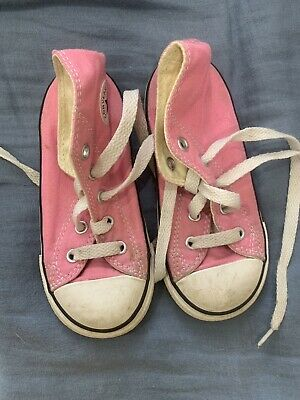 CONVERSE ALL STARS Toddler pink size 8