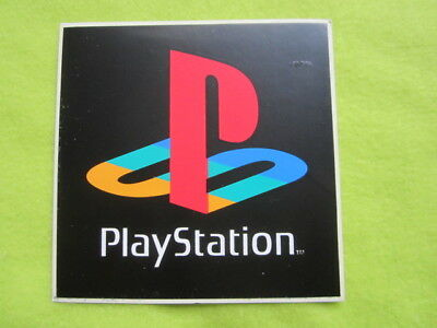 PSX Playstation PS1 logo sticker promo item game