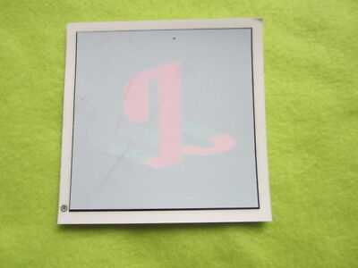 PSX Playstation PS1 logo window sticker promo item game