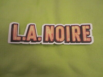 L.A. Noire promo sticker PS3 Playstation 3 / Xbox 360