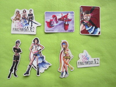 Final Fantasy X-2 X2 fridge magnets promo item