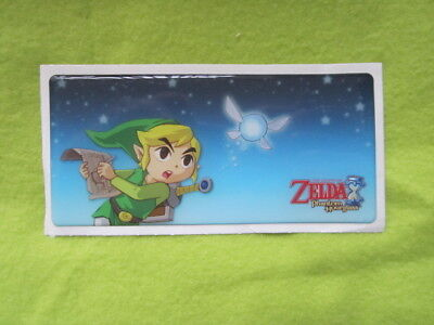 Legend of Zelda phantom hourglass DS thick sticker