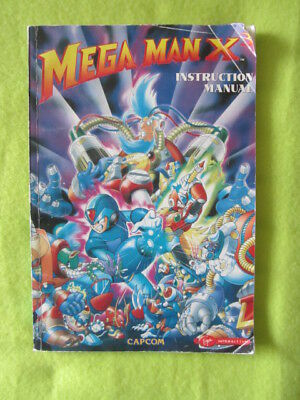 Megaman X3 Mega Man X-3 PC Manual book