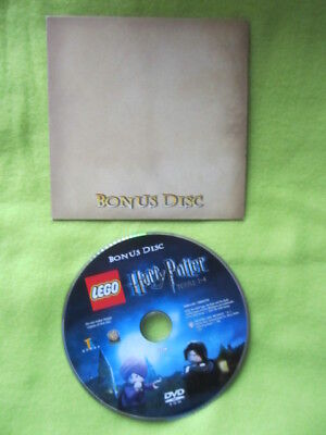 Lego Harry Potter DVD Rom bonus disc Playstation 3 / Xbox 360