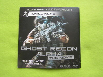 Ghost Recon Alpha the movie DVD promo item (live action film)