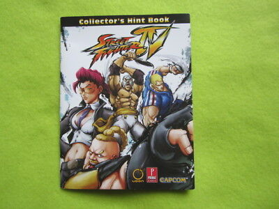 Street Fighter 4 IV hint booklet Playstation / Xbox (Streetfighter)