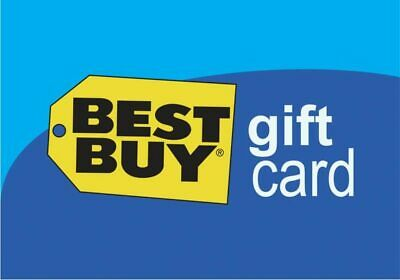 Physical Best Buy Gift Card $400