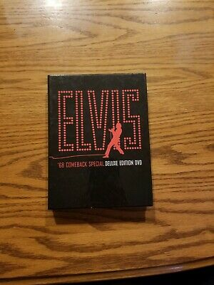 ELVIS PRESLEY - 68 Comeback Special Deluxe Edition 3 DVD set with Booklet