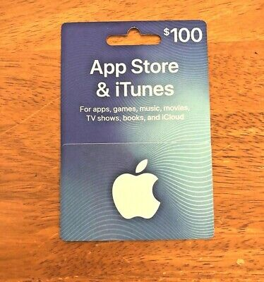$100 US iTunes Gift Card for Apple Music, Apps, Movies and more! $100 US Dollar