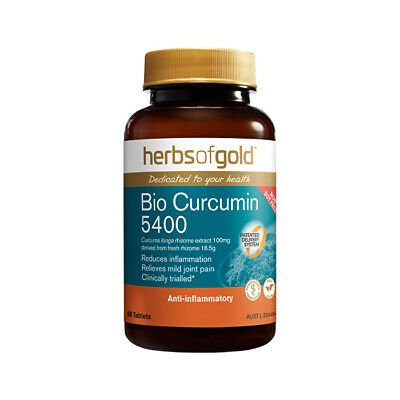 Herbs of Gold Bio Curcumin 5400 60t Joints