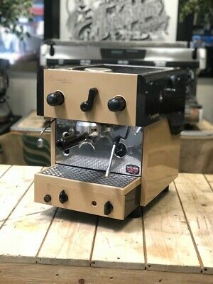 Faema Compact Vintage 1 Manual Paddle Group Espresso Coffee Machine Restaurant