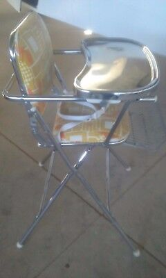 Highchair antique vintage retro peterson baby seat chair infant child