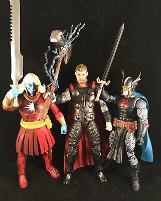 Marvel Legends Cull Obsidian thor black knight malekitH avengers Infinity War