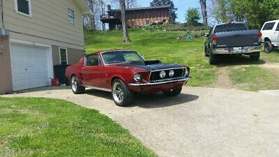 1967 Ford Mustang  1967 Mustang Fastback
