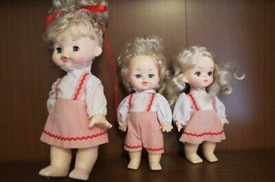 Dolls Family of 3 Mum Boy Girl