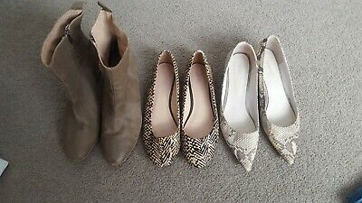 Bulk Shoes Size 42/11, All Leather, Pony, Snakeskin. Trenery, Country Road...