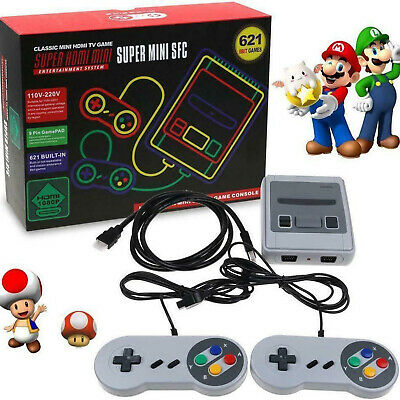 Mini Retro Game Console HDMI / AV Built-in 621/620 Games Nintendo W/2 Controller