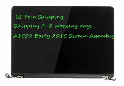 """For Macbook Pro 13"""" Retina A1502 2015 LCD Display Screen Full Assembly 661-02360"""