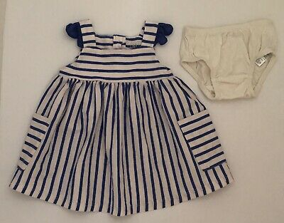 Baby Gap Infant Girls 3-6 Months Striped Knit Dress
