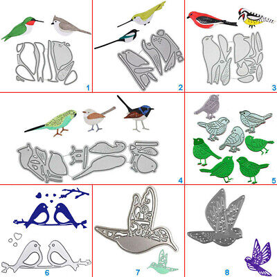 Parrot Bird Metal Cutting Dies Stencils DIY Scrapbook Album Embossing Card Craft