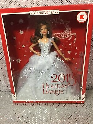 Rare 2013 Holiday Barbie Doll Auburn Redhead Kmart Exclusive X9194