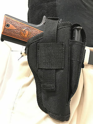 NYLON GUN HOLSTER With Magazine Pouch For Beretta APX 9mm - $19 95
