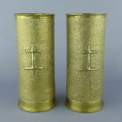 WWI Trench Art. French shell. 65 mm. 79th Infantry Division 14 18 1914 1918.
