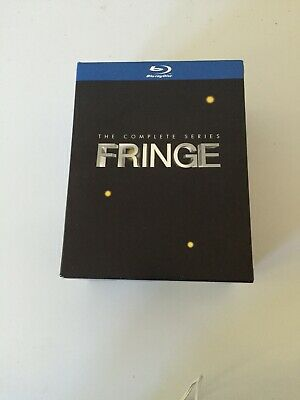 Fringe: The Complete Series (Blu-ray Disc, 2013, 20-Disc Set)